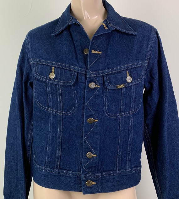 Vintage 70s LEE Denim Jacket Jean Jacket - image 1