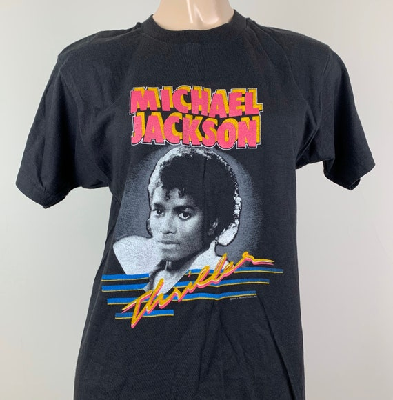Deadstock Vintage 1983 Michael Jackson Thriller T