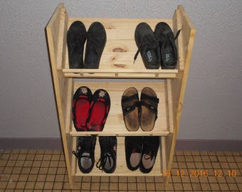 Wooden shoe furniture