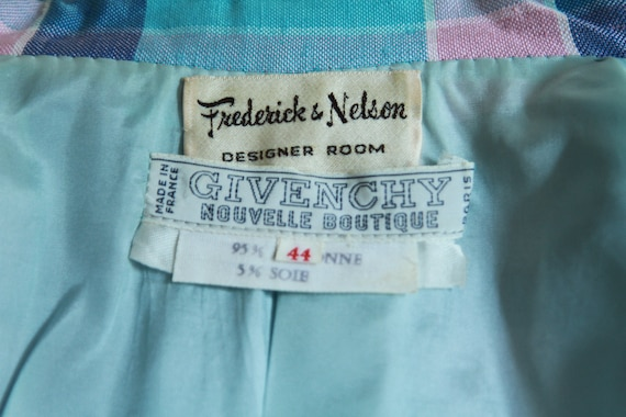 Fall sale - 60's Givenchy summer dress suit - image 6