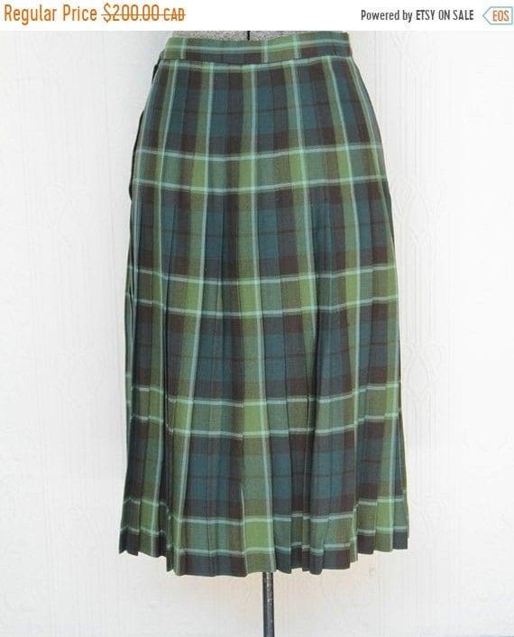 Fall sale - Woman's kilt breton tartan size 8