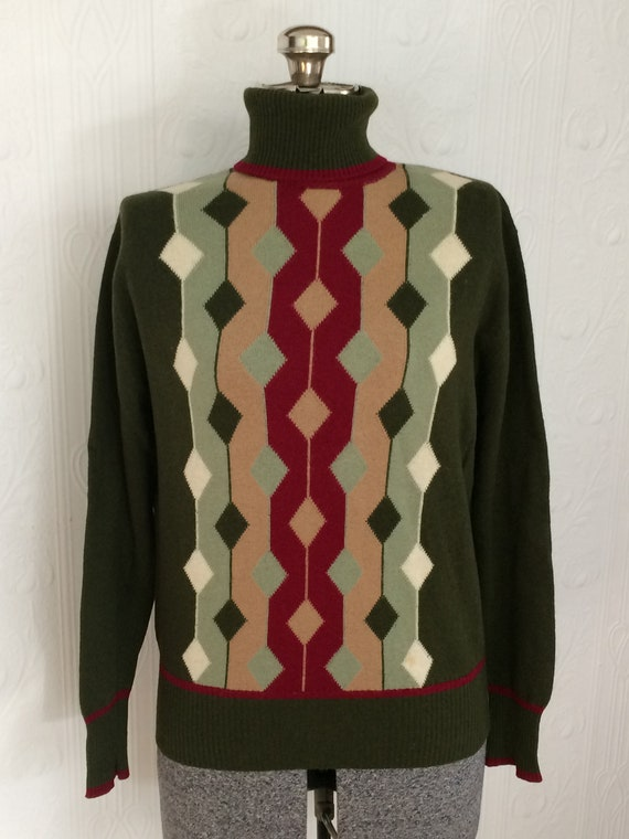 Vintage Pringle wool 60's sweater size 38 bust