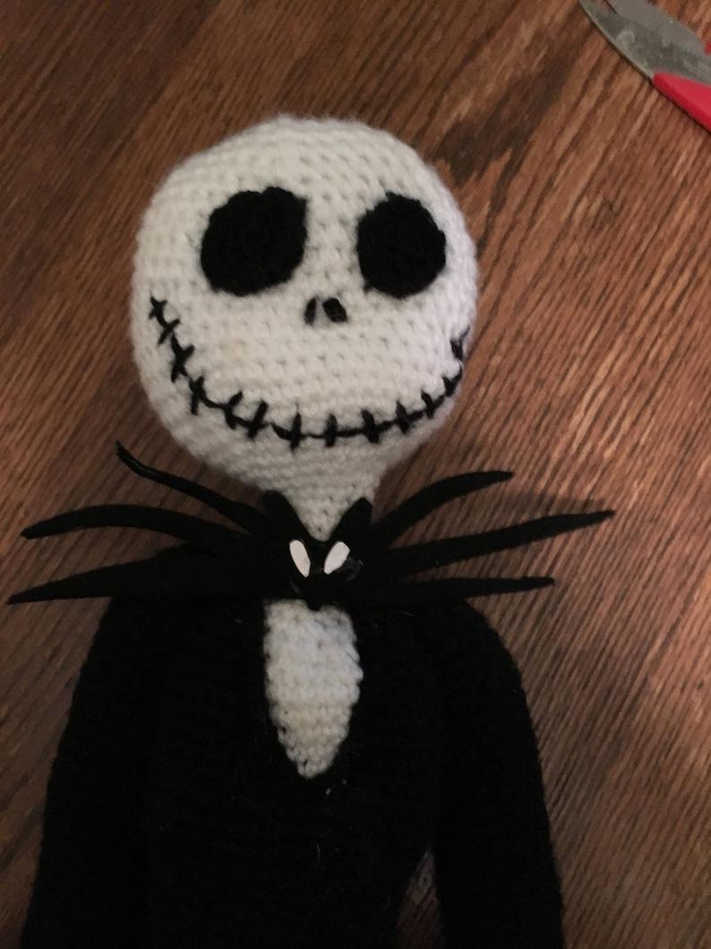 86c42608e Amigurumi Crochet Jack Skellington Nightmare Before Christmas Pattern