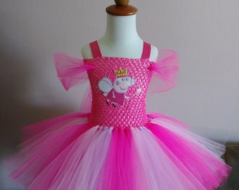 0f032d2b3b56 Peppa pig tutu dress | Etsy