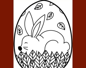 Free Coloring Pages : Ukrainian Easter Egg Coloring Pages For Kids | 270x340
