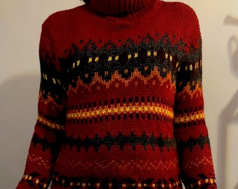 Its Our Time Turtleneck Sweater Large