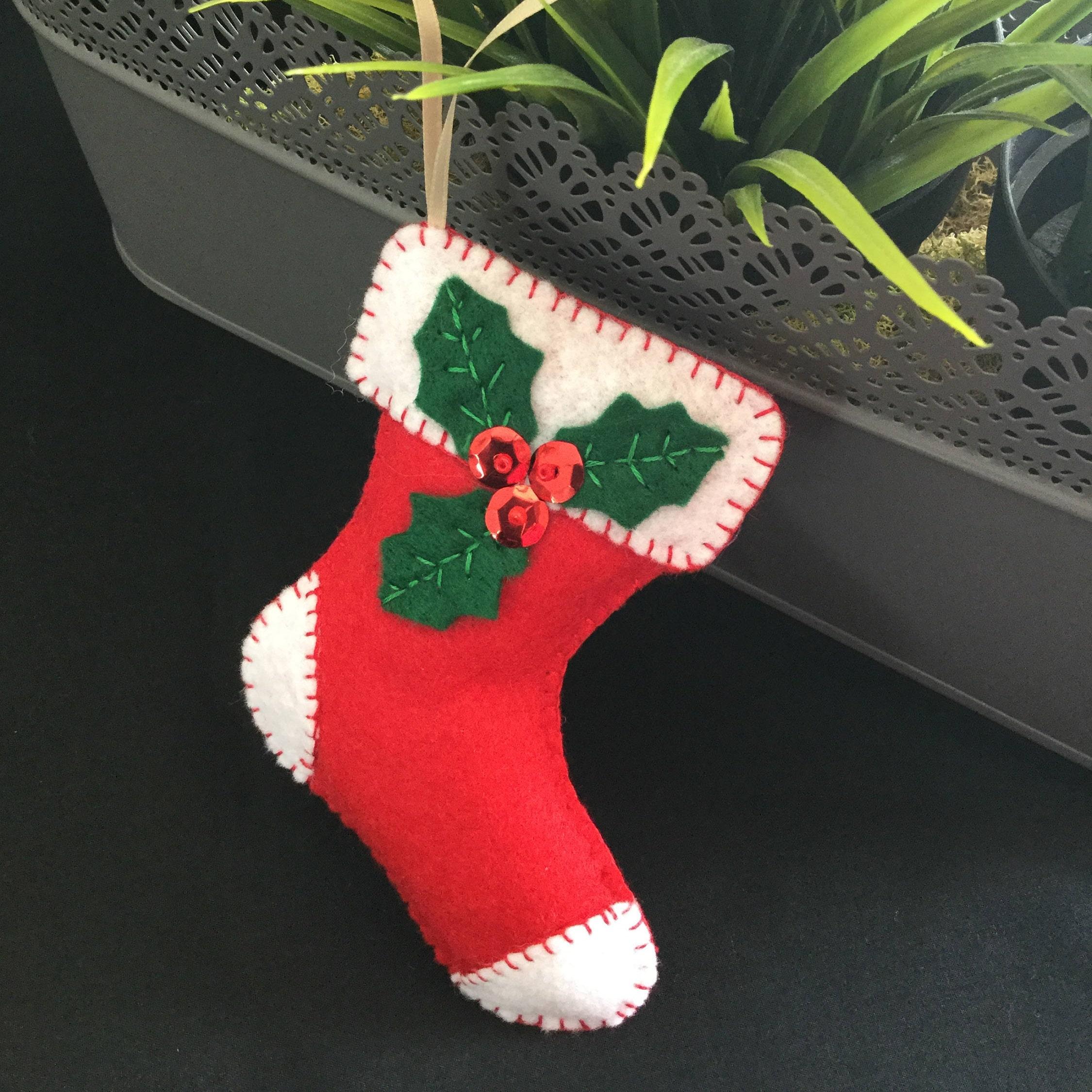 Christmas Tree Ornaments Etsy: Felt Christmas Ornaments Handmade Christmas Tree Ornaments