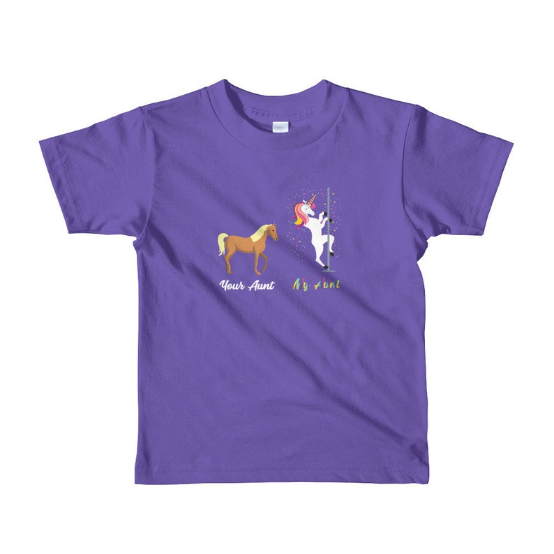 b5d21db4f0b Your Aunt My Aunt Kids Shirt - Horse Lovers Shirt - Unicorn Lovers Shirt -  Anima... Your Aunt My Aunt Kids Shirt - Horse Lovers Shirt - Unicorn Lovers  Shirt ...