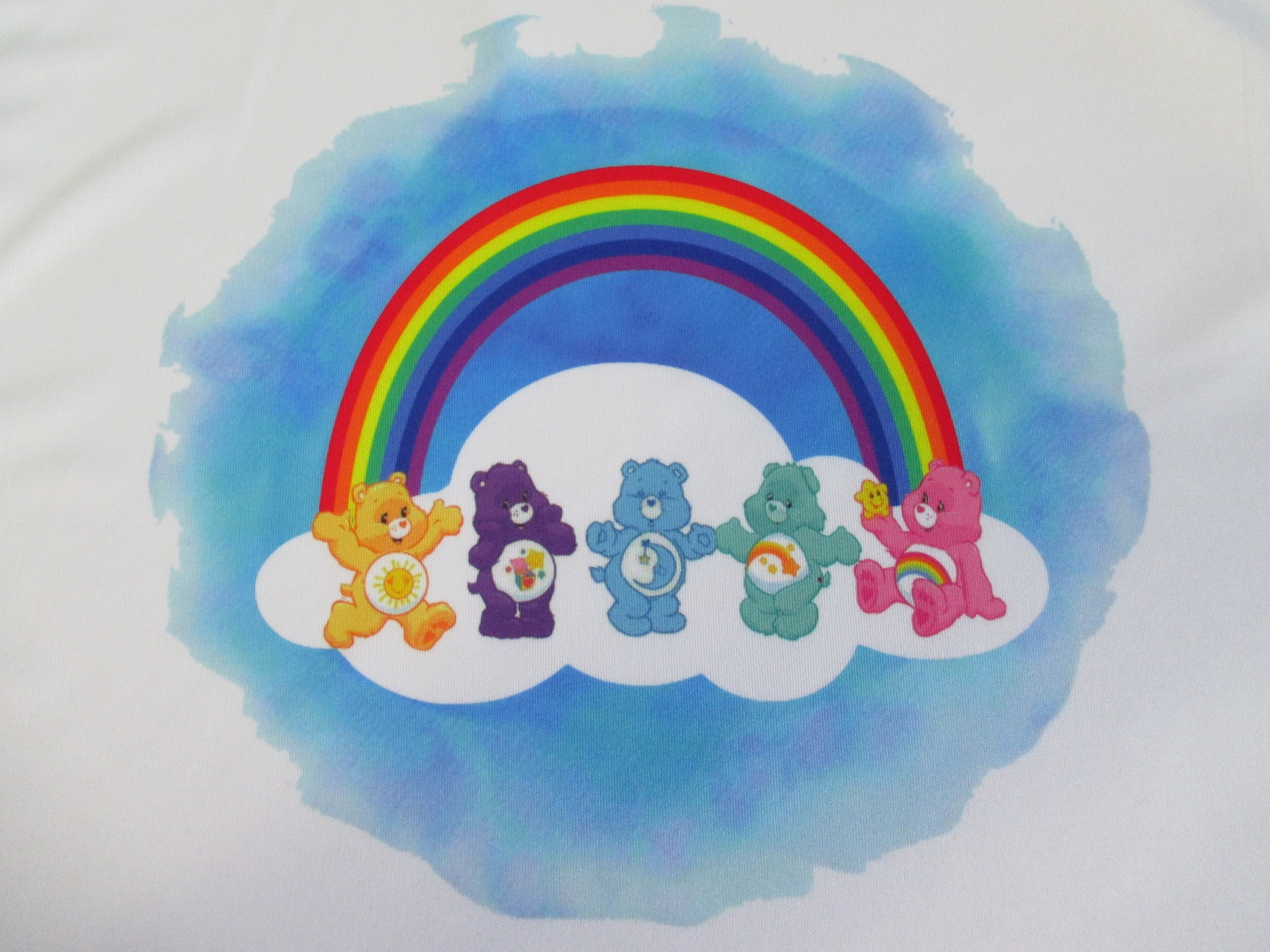 80s Tops, Shirts, T-shirts, Blouse   90s T-shirts Care Bears 1980s Inspired T Shirt SweatshirtTank Gift For Her Him Handmade Sublimation $14.99 AT vintagedancer.com
