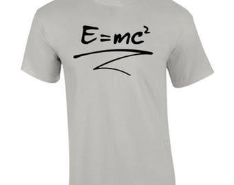 T-Shirt Equation Funny Custom Shirt & Ink Color