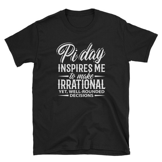 Mad Over Shirts They Call Me Pi Because Im Irrational and I Dont Know When to Stop Unisex Premium Tank Top
