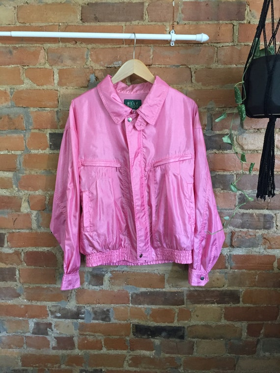 Bubblegum Pink Windbreaker