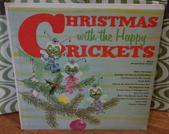 Christmas With The Crickets LP Record