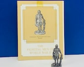 FRANKLIN MINT PEWTER The fighting men of world war ii 2 two miniature soldier figurine coa vtg ww2 wwii Lieutenant 5th guard Russia tank