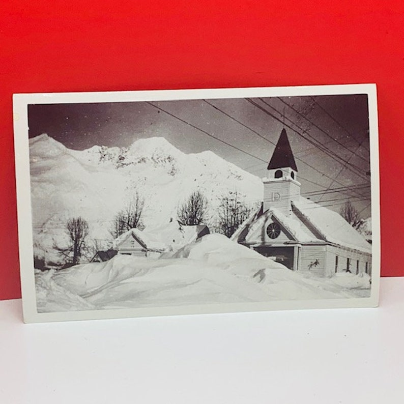POSTCARD EPHEMERA ANTIQUE post card paper collectible unposted vintage vtg roadside america real photo black white winter ice storm icicle 3