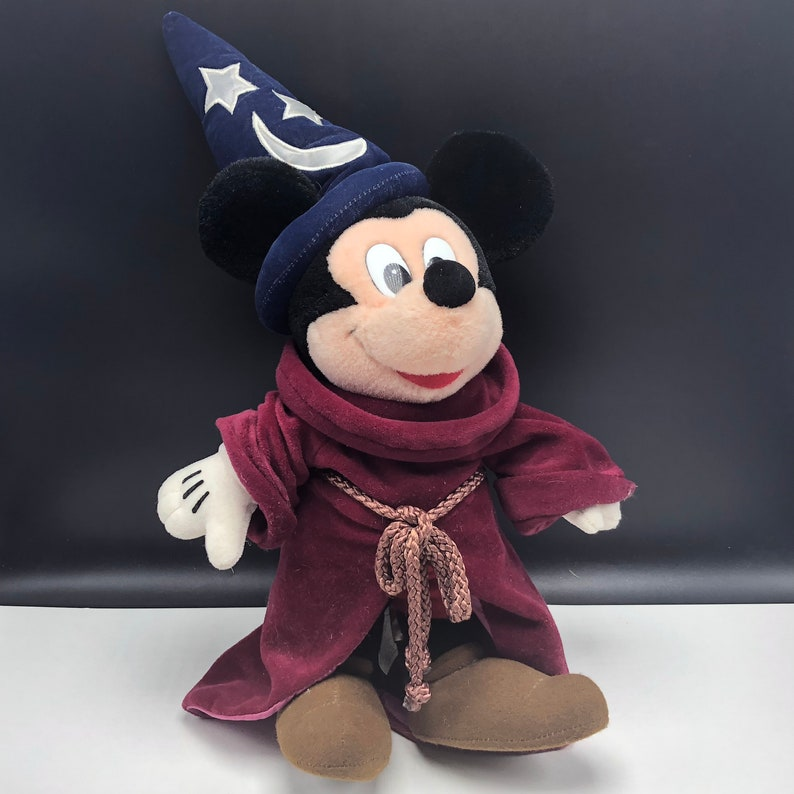 56a49b76f3e FANTASIA WALT DISNEY plush vintage stuffed animal toy