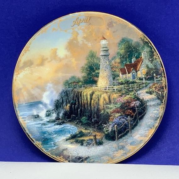 Thomas Kinkade Light of Peace Limited Edition Plate