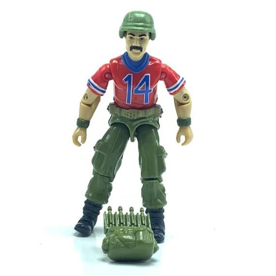 Vintage 1991 Hasbro GI Joe Mercer Action Figure Missile Part Used