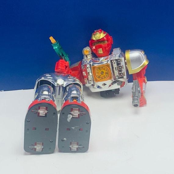 VINTAGE ROBOT TOY figure electronic battery operated droid vtg new bright tomy japan hong kong shogun warrior Starrior deadeye cricket T rex