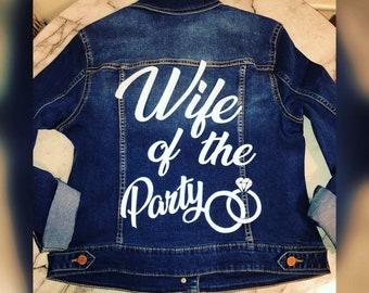 20ab34fd6fb4 Wife of the Party Denim Jacket