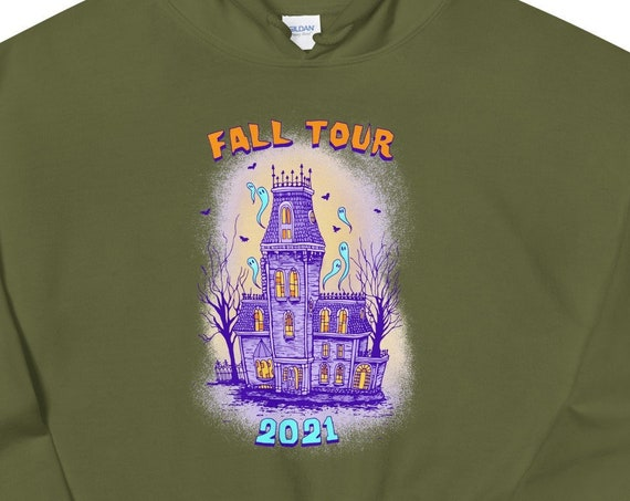 FALL TOUR SWEATSHIRT, Phish sweatshirt, fall tour 2021, phish fall tour, phish hoodie, fall tour hoodie, phish art, phan art, phish chicks