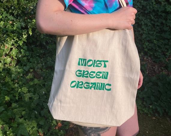 LAWN BOY TOTE, Moist green organic tote bag, phish tote bag, phish print, moist green organic, lawn boy, phish art, phan art, phish chicks