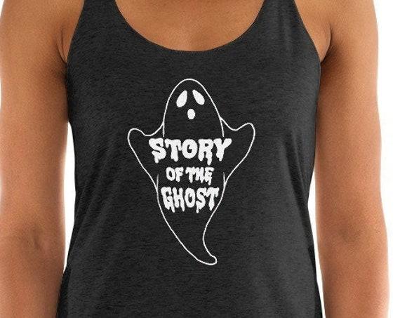 GHOST PHISH TANK, Phish Women's tank, Ghost Phish shirt, Story of the Ghost, Phish Shirt, Women's shirt, Phish Chicks