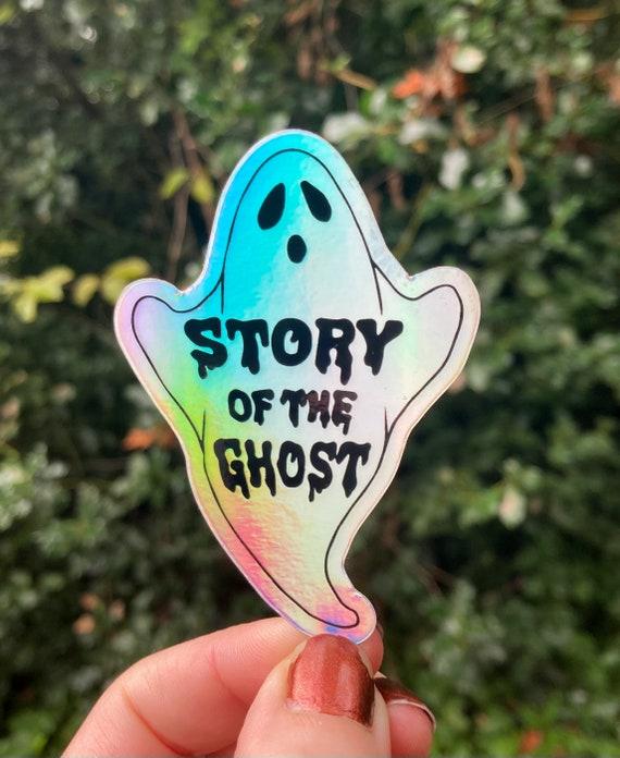 GHOST PHISH STICKER, Story of the ghost sticker, phish sticker, ghost sticker, holographic sticker, phish halloween, phish chicks