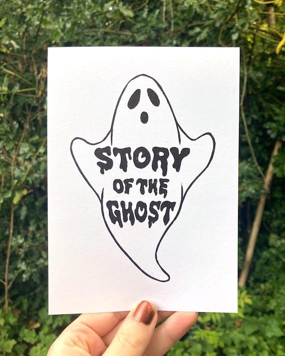 STORY of the GHOST PRINT, Ghost print, Phish print, Phish linocut, Ghost linocut, Phish print, Phish poster, Phan art, Phish chicks