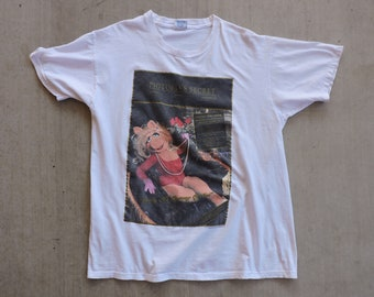 e029885c9bb2 RARE Vintage Pigtoria's Secret Miss Piggy Jim Henson T-shirt XXL