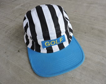 a760759d611 Golf Wang Striped Box Logo Baseball Cap