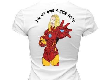 Superhero Caricature Shirt
