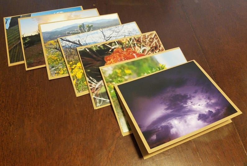Photography Note Card Set The San Pedro River Valley