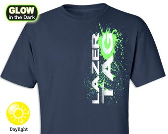Laser Tag Glow in the Dark T-shirts (limited)