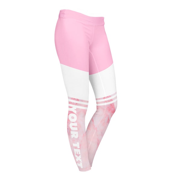 Custom Yoga pantalons Leggings marbre touche-Style3 plein-print Leggings / pantalon / leggings imprimé / design moderne / Activewear