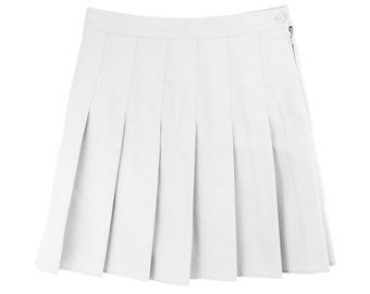8417fdba50 tennis skirt white pleated skirt american apparel grunge tumblr