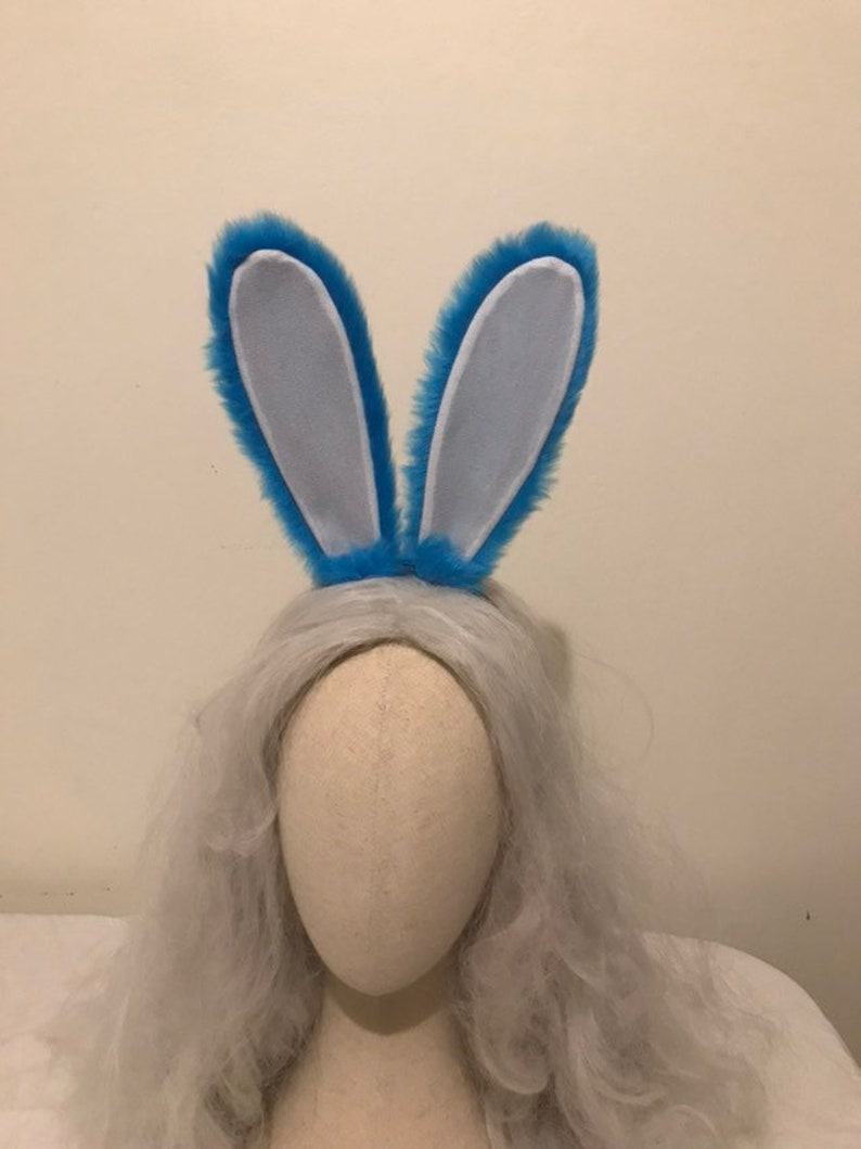 Hot High-quality Judy Hopps Rabbit Bunny plush Ears Tail Accessories