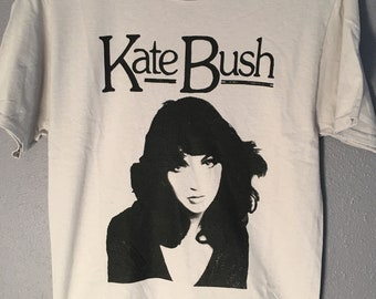 Kate Bush Running Up That Hill Hounds of Love Wuthering Heights Babooshka Tshirt