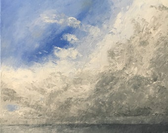 Approaching Storm - Oil on Canvas - 40x40