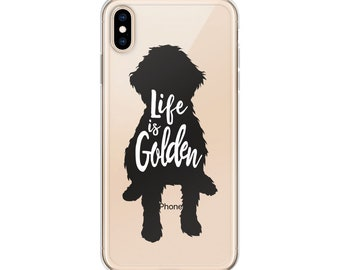 0d944d16 Goldendoodle iPhone Case 6 Plus/6s Plus, 6/6s, 7 Plus/8 Plus, 7/8, X/XS, XS  Max | Life is Golden iPhone Case | Goldendoodle Gift