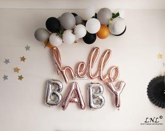 Hello Baby Balloons
