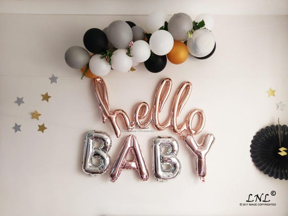 Wedding Balloon Gold Silver Letters Baby Shower Gender Reveal Balloon ALWAYS TOGETHER Rose Gold Balloons Party Balloons Mylar Balloons