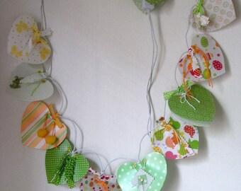 """String light """"Spring"""" for children"""