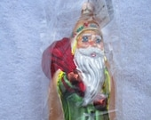 Vintage Christopher Radko Authentic Christmas Ornament 1996 Little Golden Hood 97-261-E Made in Poland NOS