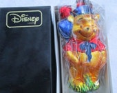 Vintage Christopher Radko Authentic Christmas Ornament 1997 Fourth of July Winnie Pooh 97-DIS-44 Made in Poland NOS
