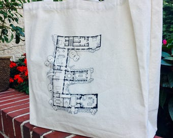Artist's Tote Bag - Architecture Initial