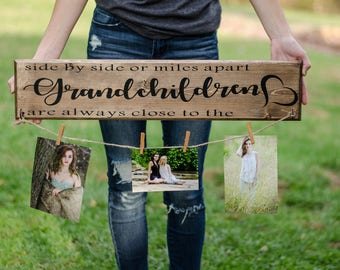 Grandchildren photo holder