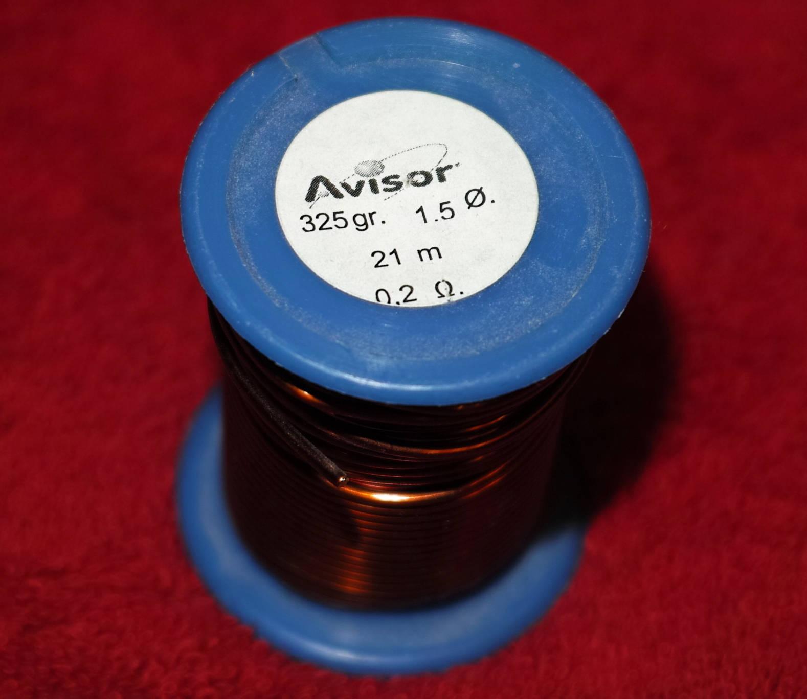 Avisor enameled copper wire Made in Spain | Etsy