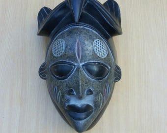 Teru harvest mask,home decor,wooden mask,Traditional mask,kenya wooden mask,Antique mask,Old traditional mask,Africa wooden mask,wooden mask