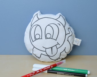 stuffie, Plush Pillow pattern dialotin child